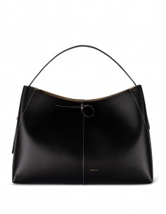 Elegant tote WANDLER Ava medium black.