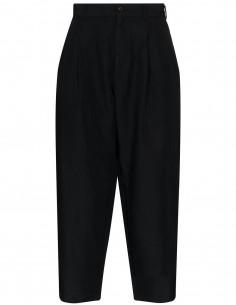 Cdg H+ Pantalon Cropped Pinces Devant