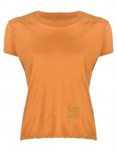 T-shirt orange à manches courtes Rick Owens DRKSHDW