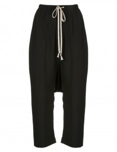 RICK OWENS 'Tecualt' wide black pants