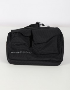 Abdoman A-COLD-WALL* black banana bag