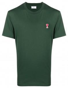 Ami Tee Shirt vert petit logo
