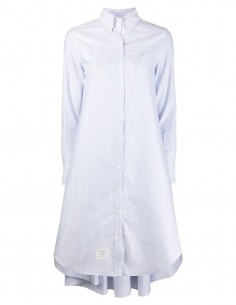 Shirt dress in cotton THOM BROWNE