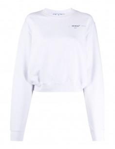 OFF-WHITE sweat-shirt crop 'Meteor Palette'