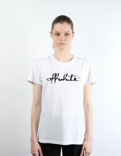 White short-sleeved OFF-White T-shirt