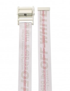 White industrial belt OFF-WHITE