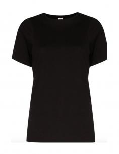 T-shirt noir TOTEME en coton bio