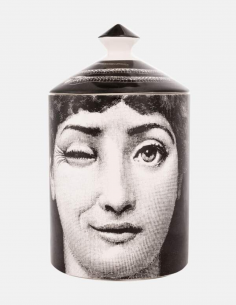 "FORNASETTI black and white perfumed candle ""SILENZIO"" 300g"