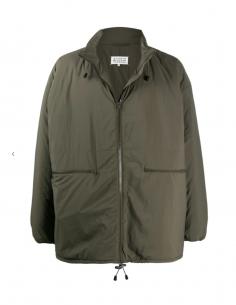 MAISON MARGIELA oversized khaki short coat