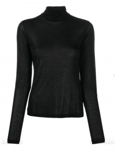 MM6 black turtleneck pullover