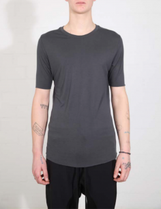 THOM KROM Grey tee with clean edges