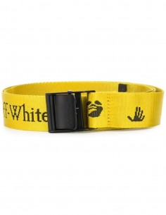"Ceinture ""New Logo"" Jaune Off-White Mixte FW 20"