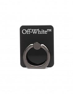 Phone Ring Noir Off-White Mixte FW 20