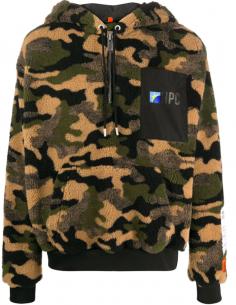 HERON PRESTON camouflage zip-up hoddie for men, fall/winter 2020