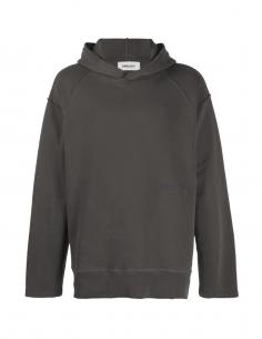 Sweatshirt gris à couture apparentes AMBUSH pour homme, automne/hiver 2020