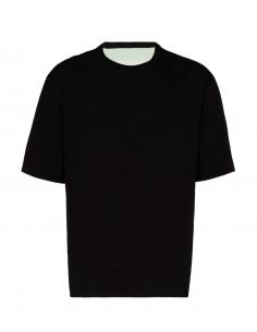T-shirt réversible noir et vert AMBUSH pour homme, automne/hiver 2020