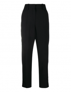 BALMAIN PARIS black carrot pants for women, fall/winter 2020