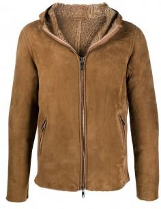 Veste zippée courte à capuche GIORGIO BRATO pour homme, automne/hiver 2020