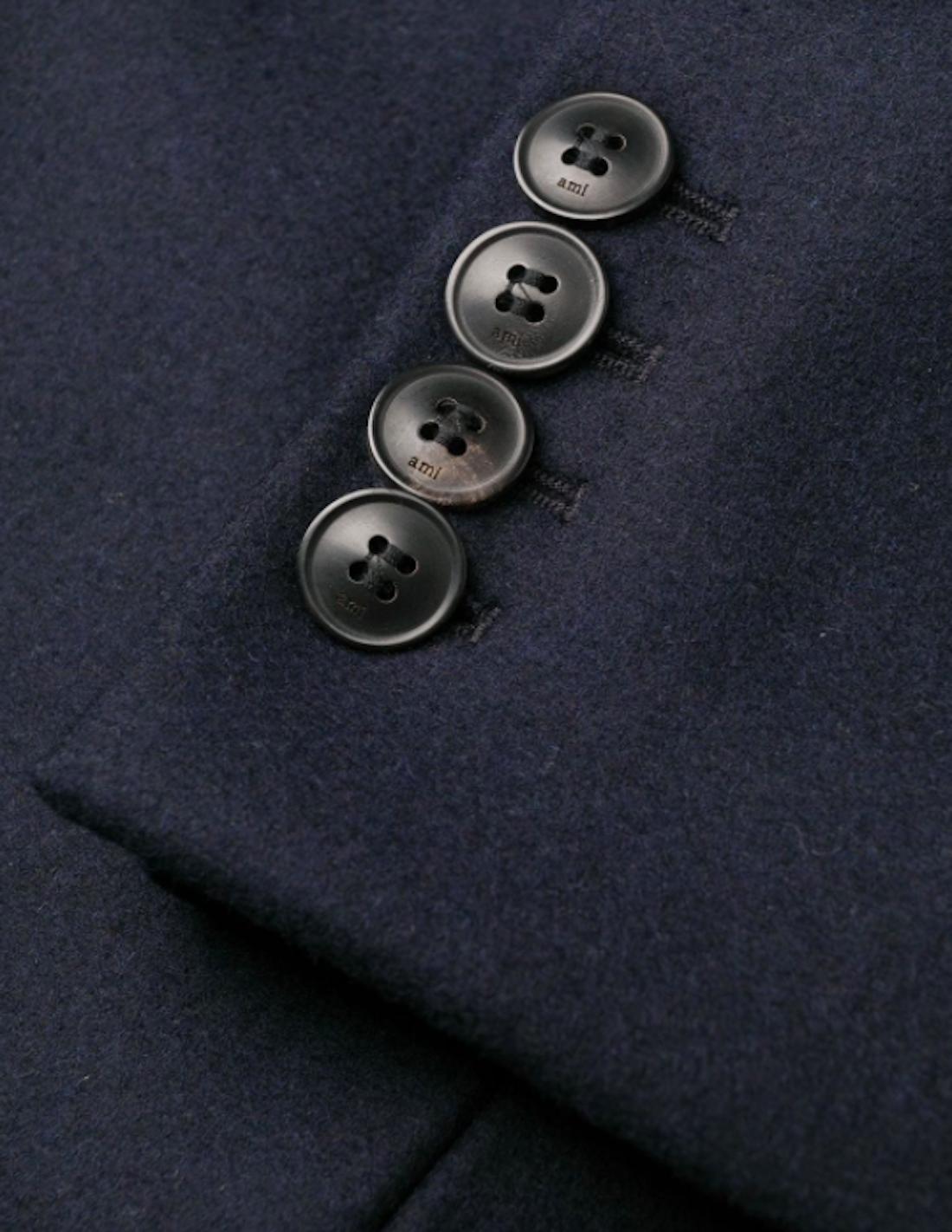 Manteau Bouton noir avec bordure 30mm 2.30 EUR//pièce