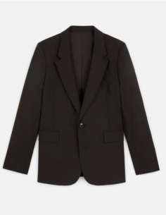 BLACK BLAZER JACKET 2 BUTTONS