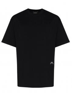 T-shirt Classic Brodé Logo Noir