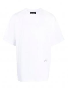 T-shirt Classic Logo Brodé Blanc