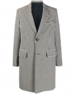 Coat With Houdstooth Pattern