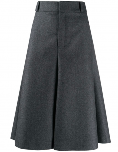 Grey Flannel Panty Skirt