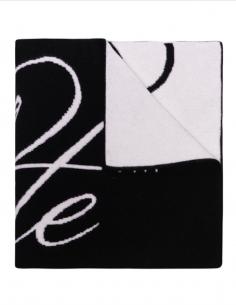 Echarpe Bicolore Logo