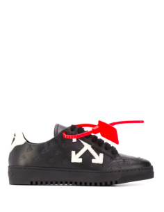 Black Monogram Arrow Sneakers