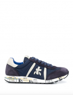 Navy Blue LUCY Sneakers Nylon