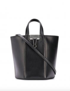 ALLEN Black Bucket Bag