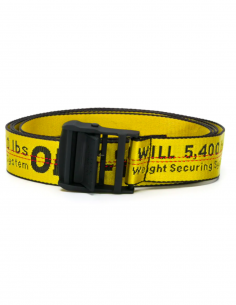 Yellow Industrial Belt