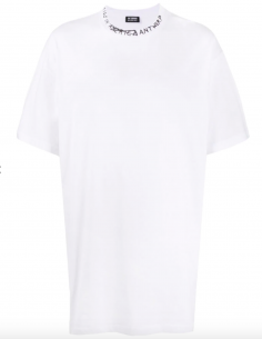 T-Shirt Kids In America Oversize Blanc