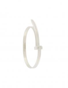 Bracelet Zip Tie Argent