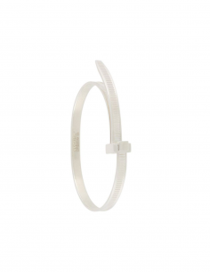 Silver Zip Tie Bracelet
