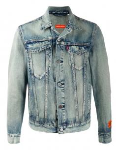 Veste En Jean Vintage HERON PRESTON x Levi's