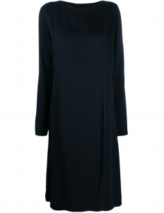 Dress Midi Pleated Back