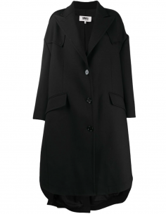 Coat Black Ball Stitching