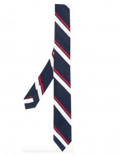 Tricolor striped tie thon browne men fw20