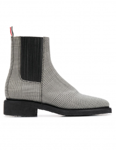 thom browne Prince of Wales chelsea boots women fw20