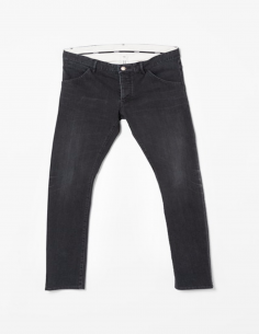 Grey Slim Stretch Jeans