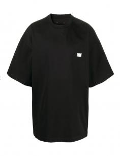 T-Shirt M-c Oversize Coton Noir