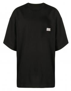 T-shirt M-c Imprimé Hope Dos Noir