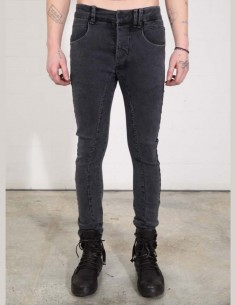 THOM KROM slim-cut stretched denim jeans in grey