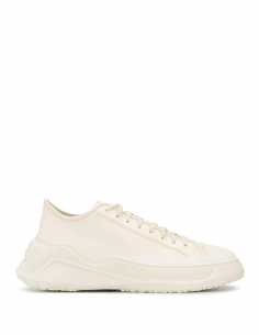 Ecru Sneakers Leather Rubber