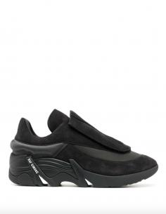 Grey ANTEI Sneakers Huge Scratch Suede