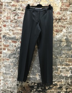 Black Formal Straight Pants