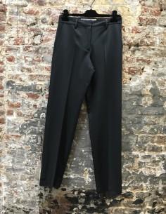 Pantalon Droit Formel Noir