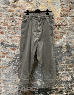 Stretch Cotton Washed Sarouel